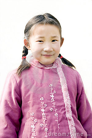Chinese young girl