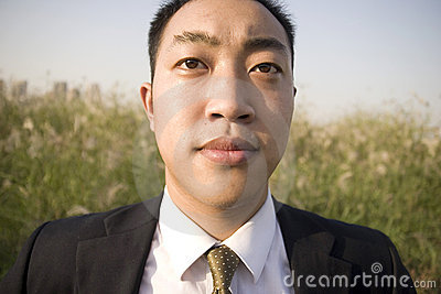 Chinese young man