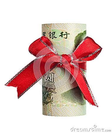 Chinese yuan gift