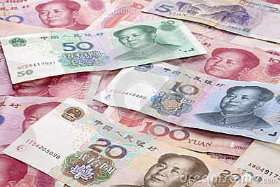Chinese Yuan Renminbi Currency Background