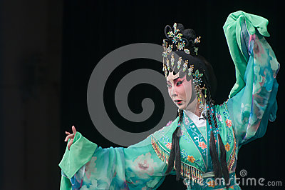Chinese Yue opera actor