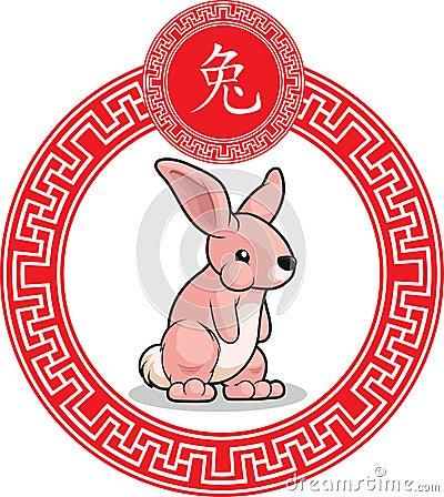 Chinese Zodiac Animal - Rabbit