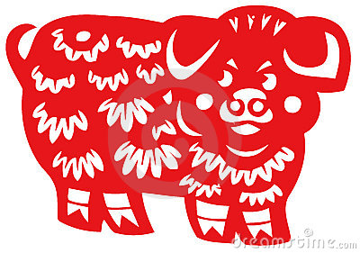 Chinese zodiac of pig
