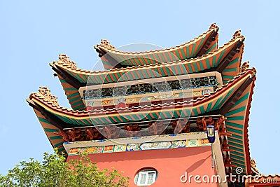 Chinesische Gebäude