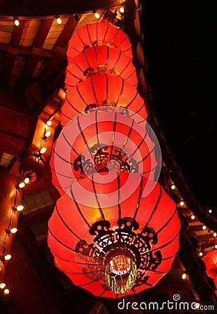 Chinesische Laternen Stockfotos - Bild: 12002653
