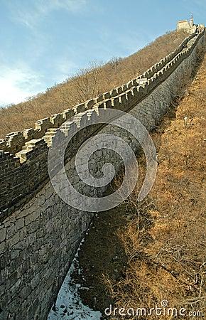 Chinesische Mauer (im Herbst)