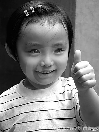 Chinesisches glückliches Kind