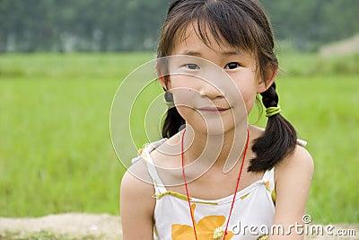 Chinesisches junges Mädchen
