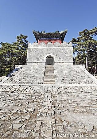 Chinesisches königliches Mausoleum.