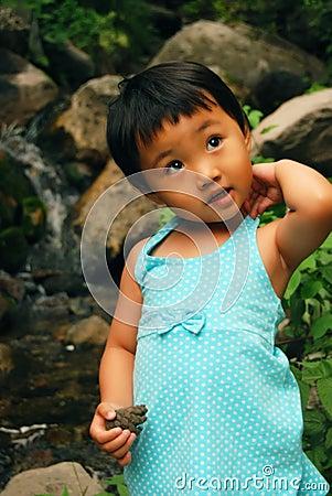 Chinesisches Mädchen