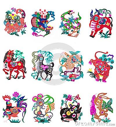 chinesisches tierkreiszeichen stockfoto bild 8570790. Black Bedroom Furniture Sets. Home Design Ideas
