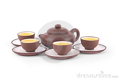 Chinesisches Yixing Tee-Set
