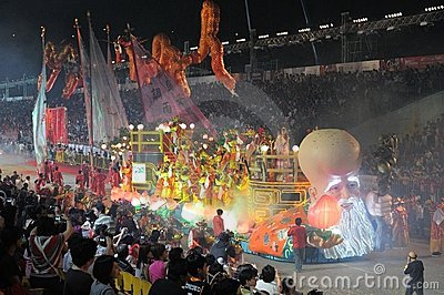 Chingay 2011 Parade Singapore Editorial Photo