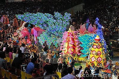 Chingay 2011 Parade Singapore Editorial Stock Photo