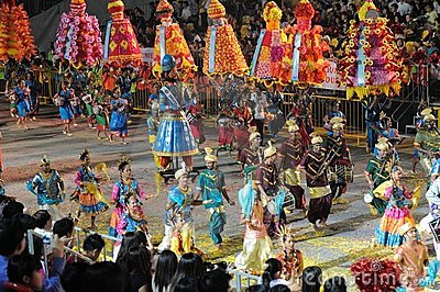 Chingay 2011 Parade Singapore Editorial Photography