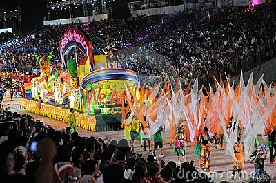 Chingay 2011 Parade Singapore Editorial Image