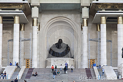 Chinggis Khan Statue Editorial Image