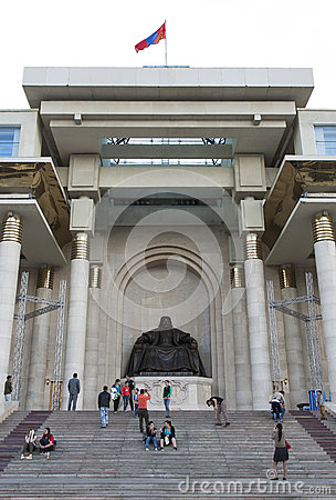 Chinggis Khan Statue Editorial Image