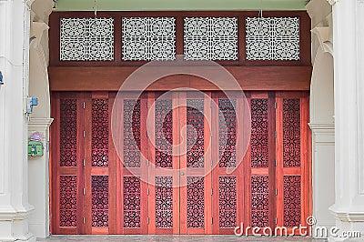 Chino Portuguese door