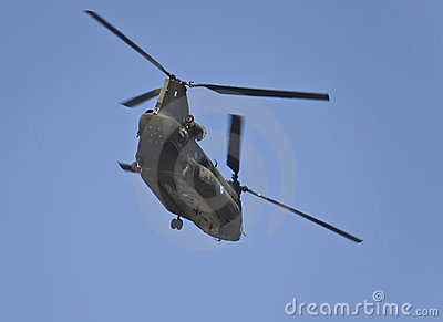 Chinook ch-47 military helicopter