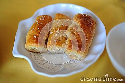 Chinse baked dumpling