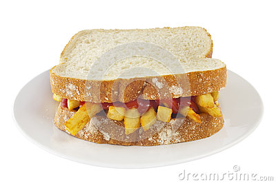 Chip Butty Sandwich