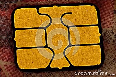 A chip card