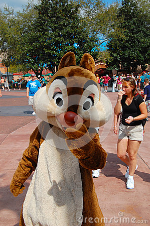 Chip and Dale Editorial Stock Image
