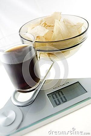 Chip e coke di dieta