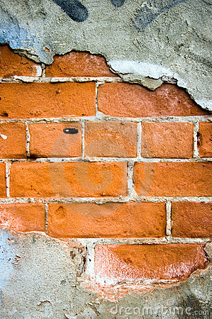 Free Chipped Paint Brick Stock Images - 13910324