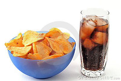 Chips and cola