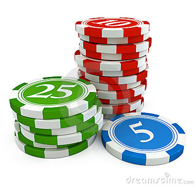 Free Chips From Casino Game Royalty Free Stock Photography - 10551117