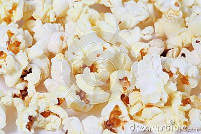 Chips of popcorn