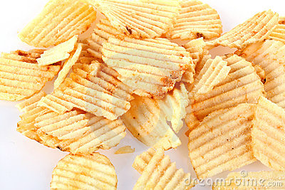 Chips potatisen