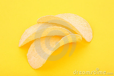 Chips on the yellow