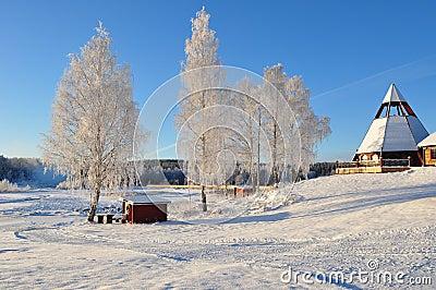 Chirch, in sweden, scandinavia