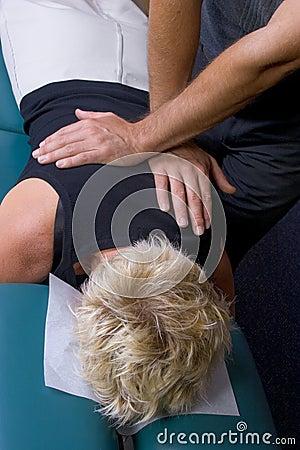 Free Chiropractic Adjustment 01 Royalty Free Stock Image - 146366