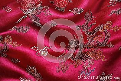 Chińska tkanina