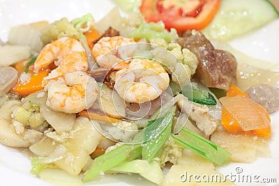 Chińskiego jedzenia zwany cay