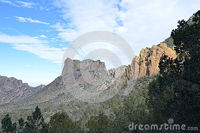 Chisos Mountains of Big Bend National Park, Texas