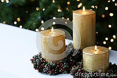 Chistmas Xmas Candles