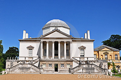 Chiswick House in Sunlight