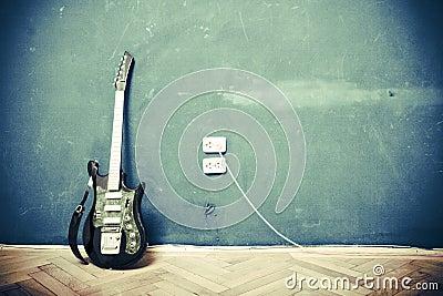Chitarra di Grunge