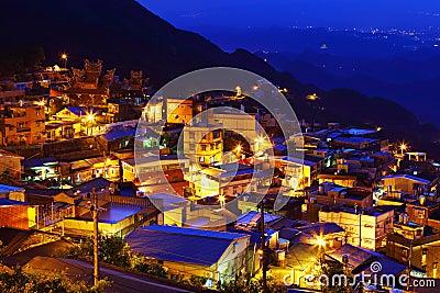 Chiu fen village in Taiwan