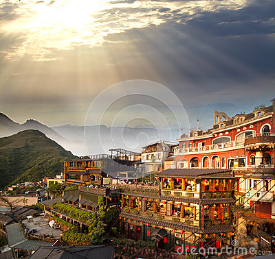 Free Chiufeng, New Taipei, Taiwan Royalty Free Stock Photo - 27306285