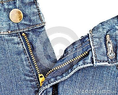 Chiusura lampo 3 del Jean