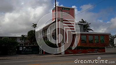Chivas Miami Motel Stories Biscayne Boulevard 4k zdjęcie wideo