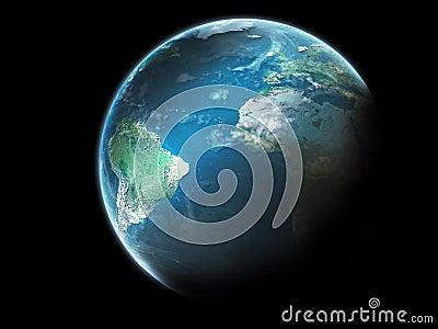 Chmury planety ziemi