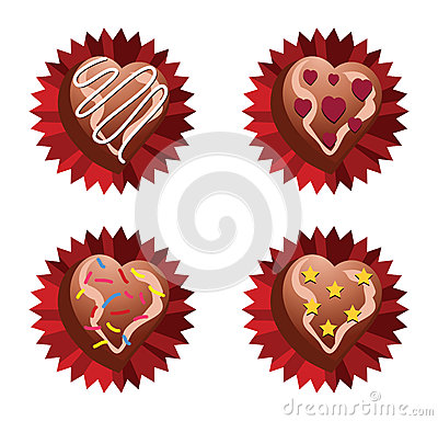Free Choco Love Royalty Free Stock Photography - 28854017