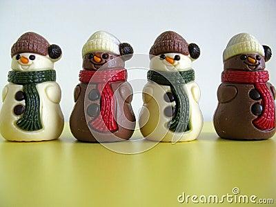 Chocolade figures